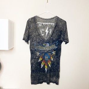 Affliction Graphic Tee